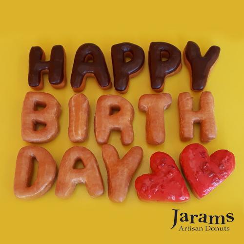 HAPPY BIRTHDAY Gift donuts