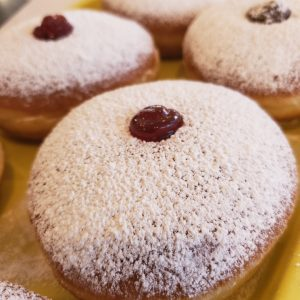 Hanukkah Donuts - Sufganiyot